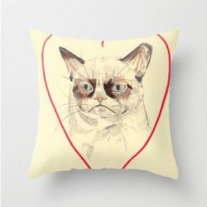 Coussin Grumpy Cat