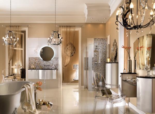 Salle de bain baroque