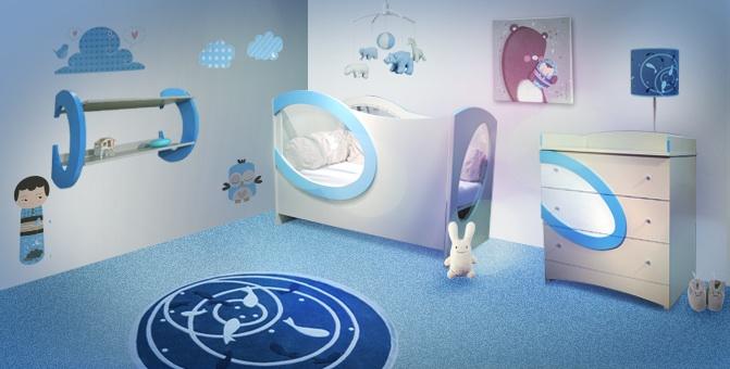 Chambre pour garon mobilier de chambre pour garcon rideau for Deco murale chambre bebe garcon