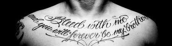 Idées de phrases pour tatouage