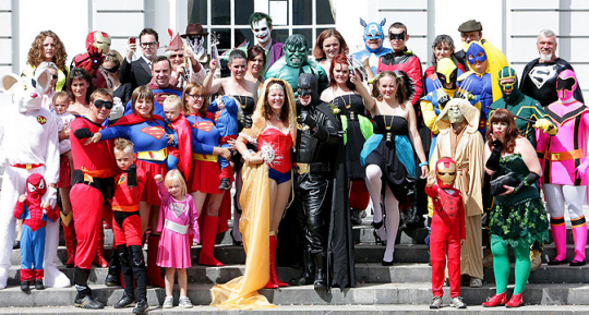 Mariage de super heros