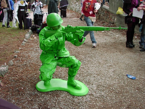 Déguisement petit soldat