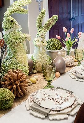 Table de Pâques Lapin