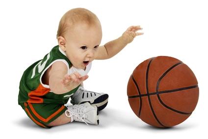 Bébé sportif