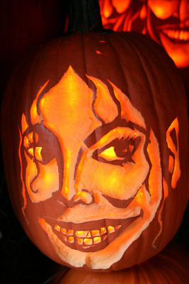 DWP celebrity pumpkin 231009