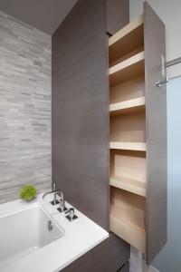 Placard de salle de bain