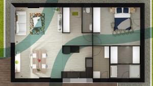 Plan d'une maison Feng Shui