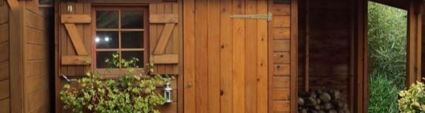 Des idées d'abris de jardin